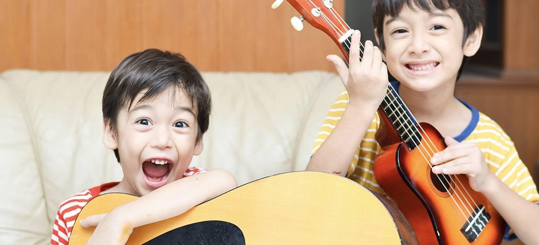 gitaarles online kind