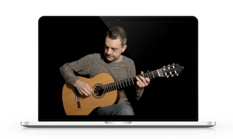online gitaarles youtube
